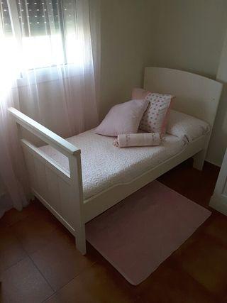 Cuna cama de 70 x 140 cm