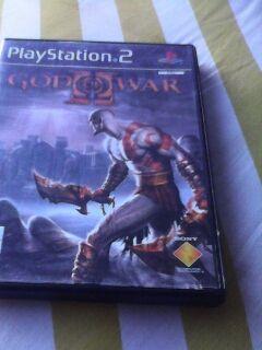 JUEGO PS2 GOD OF WAR II.