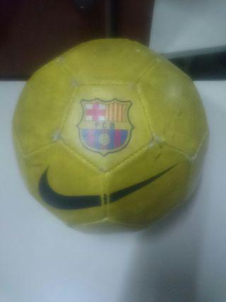 Balón de futbol barcelona