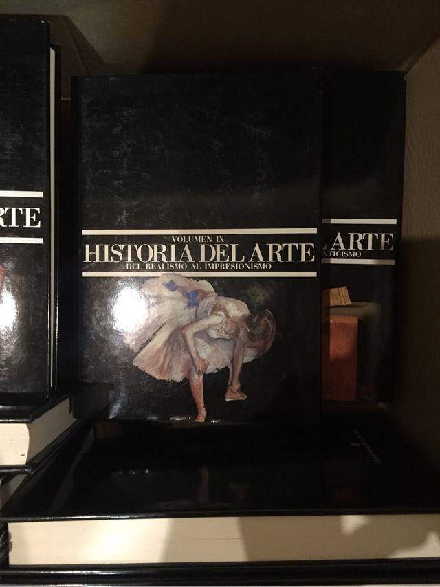 Enciclopedia completa Historia del Arte
