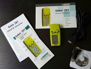 GPS Garmin Geko 201 + Cable interface con adaptador PC