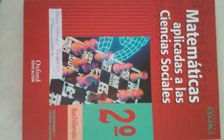 Libro matemáticas 2° de bachillerato