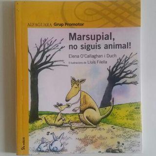 Libro Marsupial, no siguis animal!