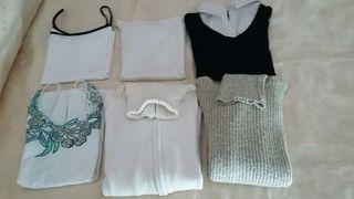 Tops de verano y jerseys de invierno.talla 40