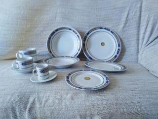Vajilla de porcelana fina italiana