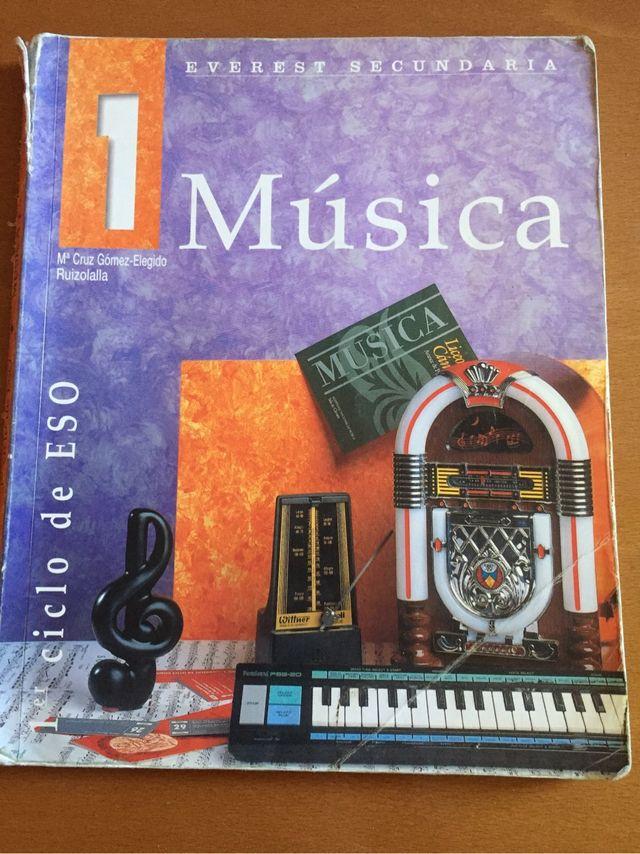 Libro de música 1*ESO EDITORIAL EVEREST