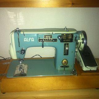 Maquina de coser Alfa Singer