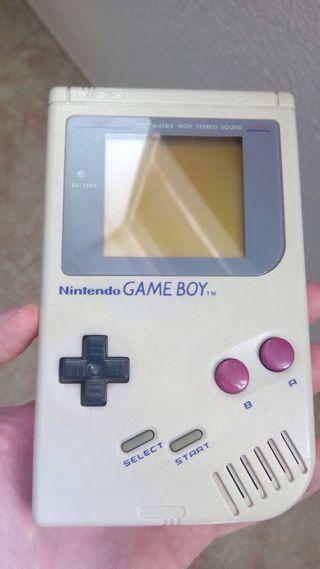 Gameboy blanca Nintendo la clásica la 1º