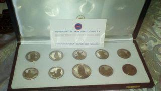 Monedas de plata dels vaticans