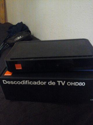 Descodificador tv de orang