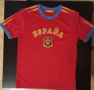 Camiseta España niño 8-9 años