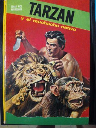 Libro: tarzán y el muchacho nativo