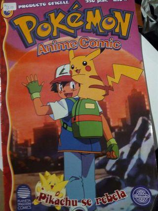 Pokemon Anime Cómic