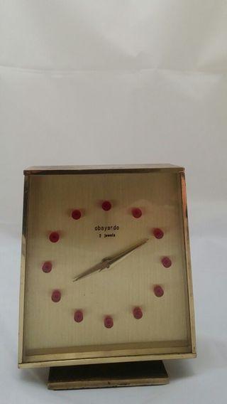 Reloj Despertador Obayardo 2 jewels de Colección