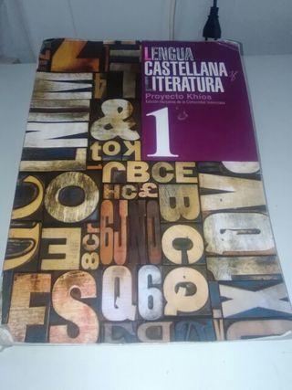 Libro de castellano 1 de bachillerato