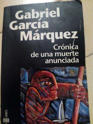 Libro: Crónica de una muerte anunciada