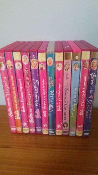 Coleccion dvds originales Barbie