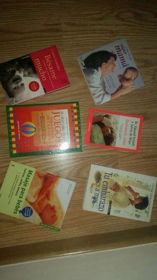 Libros de embarazo y cuidado del bebe