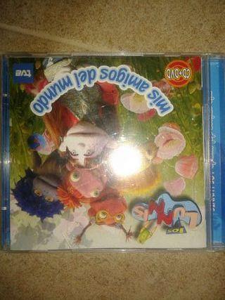 2 Dvd+ cd de los lunnis