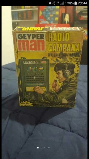 Vendo radio geyperman