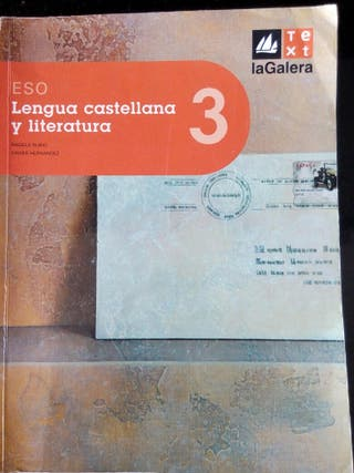Libro Lengua castellana y literatura 3° ESO