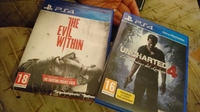 Uncharted 4 y the evil within