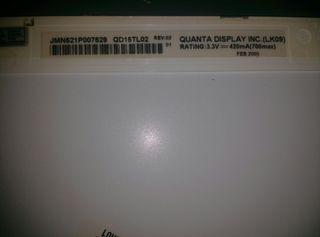 Pantalla portatil QUANTA DISPLAY LK09