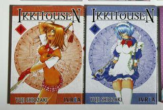 Ikkitousen cómic manga Vol 1 y 2