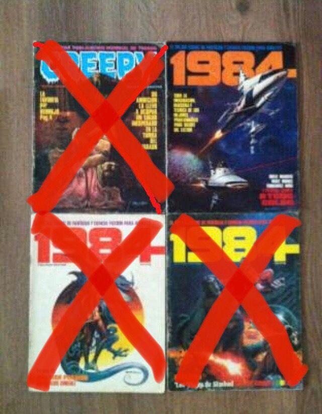 COMICS/TEBEOS TOUTAIN-1984-COMIX INTERNACIONAL