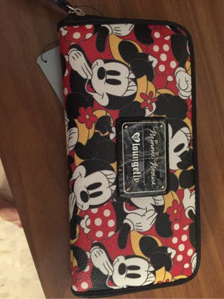 Cartera original minnie mousse de disney store