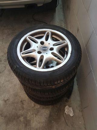 Llantas y neumáticos smart