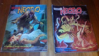 Comics Dosier negro