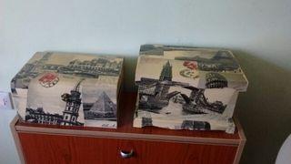 Cajas vintage,