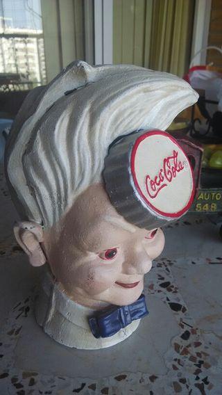 Antiguo Cuadro Publicidad Coca Cola Espejo De Segunda Mano