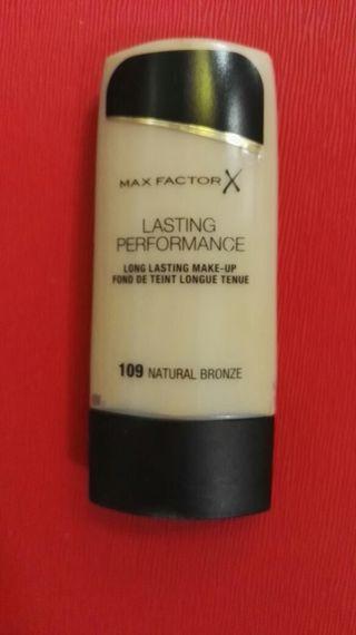 Maquillaje max factor lasting performance