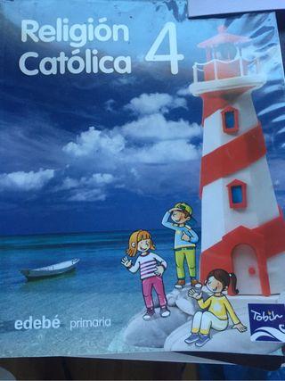 Libro de Religión 4 primaria.