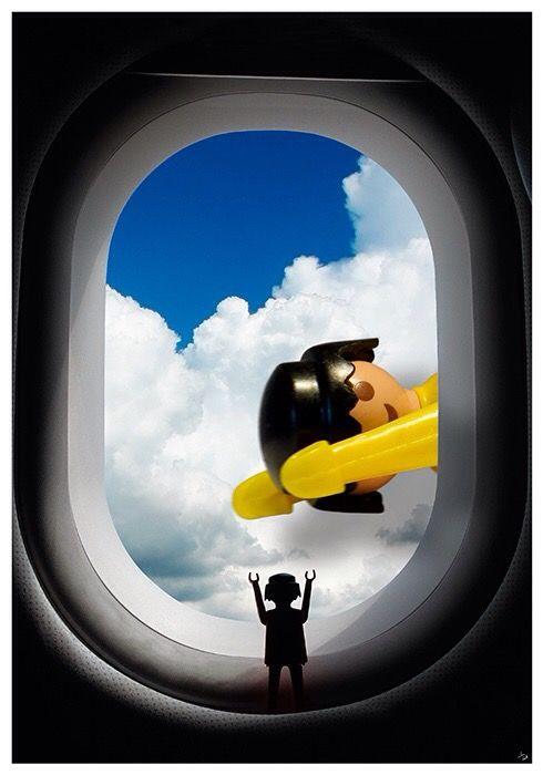 Playmobil lámina póster