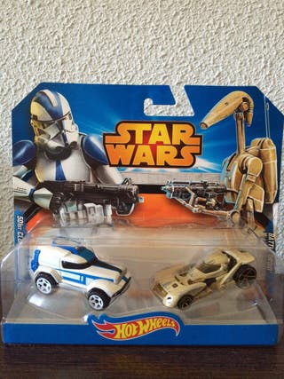 Pack de coches Hot Wheels de Star Wars