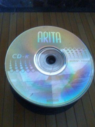 60 cd/dvds para manualidades.