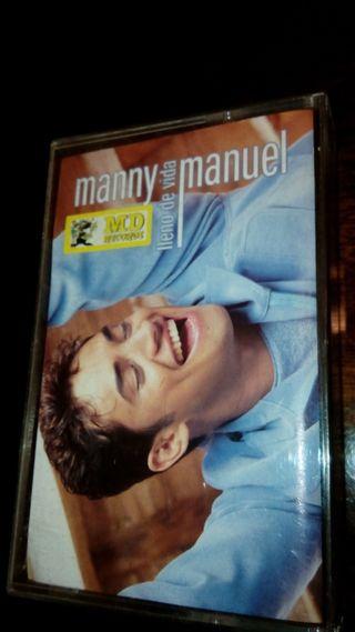 Cassete Manny Manuel '' Lleno de vida''