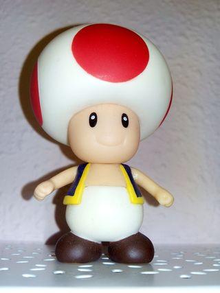 Muñeco Toad Super Mario Bros