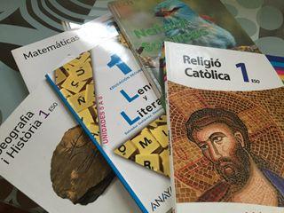 Libros de texto 1ESO