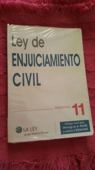 Ley de enjuiciamiento civil. LA LEY.