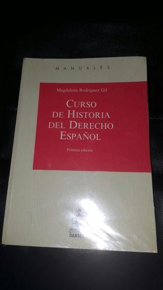 Curso historia del derecho español