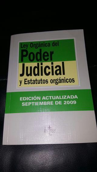 LO del poder judicial