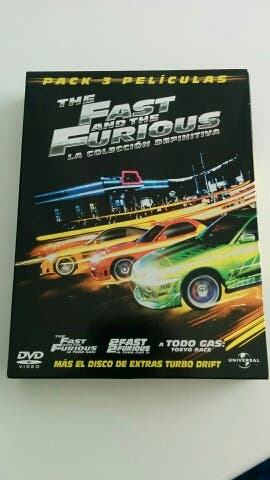 Trilogia The Fast and The Furious DVD