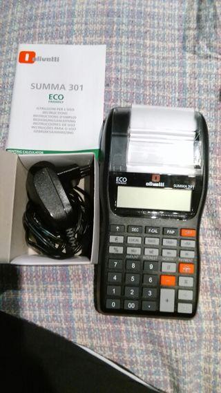 Calculadora-Impresora Summa 301 de Olivetti