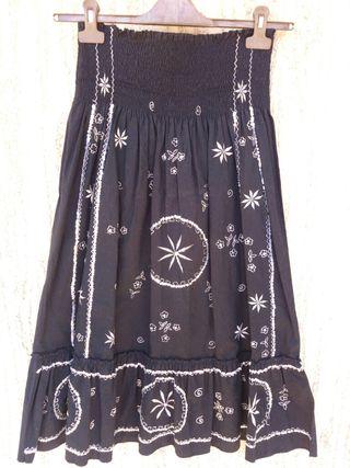 Falda negra larga Aire Andaluz