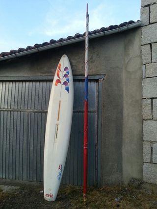 Tabla surf 3.5m x 0.60m y vela de 4.60m