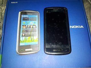 Nokia C 6 de acero LIBRE